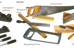 Инструменты для изготовления деревянной горки