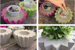 Принцип изготовления бетонных вазонов своими руками