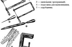 Инструменты для выпиливания поделок из фанеры
