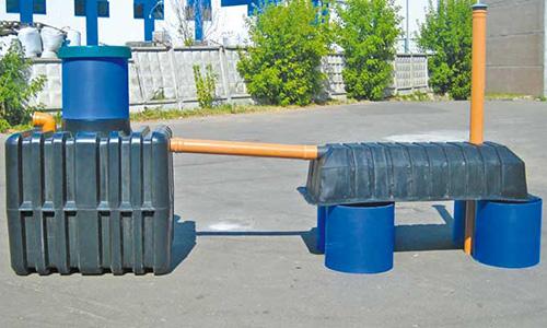 Канализационная система заводского изготовления