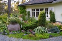 Скандинавский стиль ландшафтного дизайна