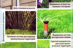 Виды дождевателей