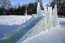 Ледяная горка для детей