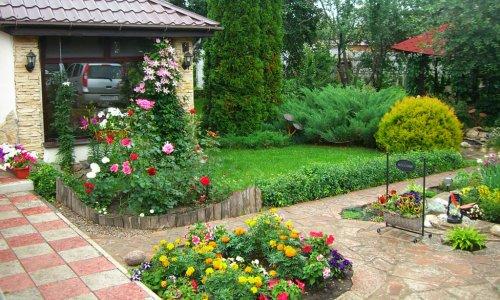 Ландшафтный дизайн с применением растений