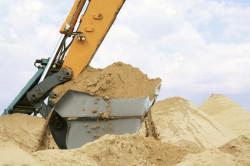 Мелкозернистый просеянный кварцевый песок