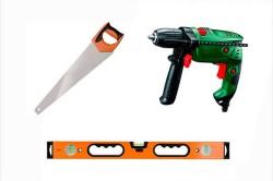 Основные инструменты для укладки террасной доски