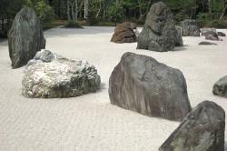 Разные формы камней для сада