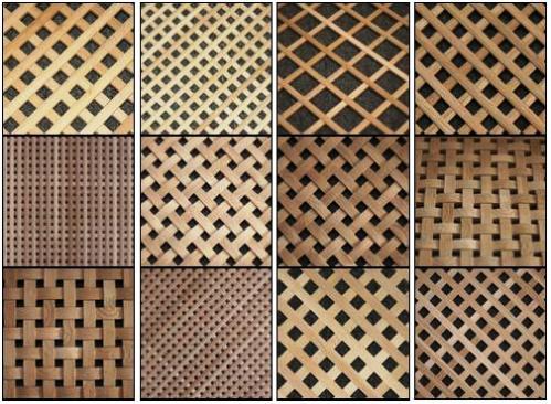 Деревянные решетки декоративные видео