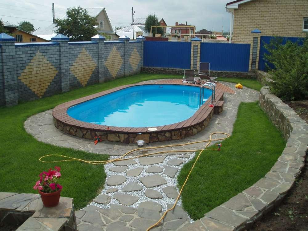 Строительство бассейна для дачи своими руками