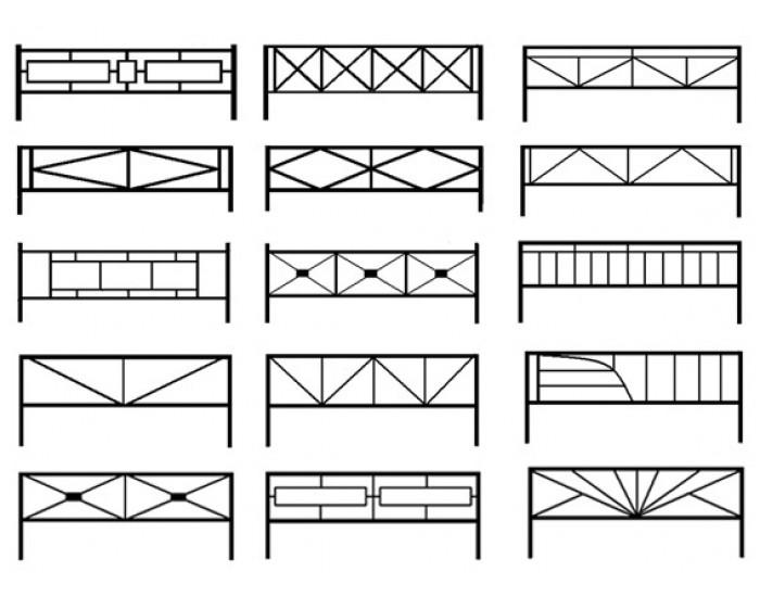 Декоративные узоры на забор своими руками