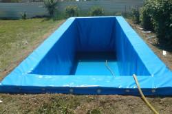 Хороший бассейн из пленки