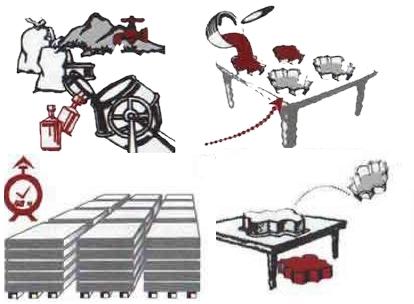 Брусчатка своими руками: технология изготовления