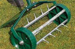 Самодельный роторный аэратор для газона