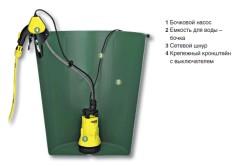 Использование бочкового насоса для полива