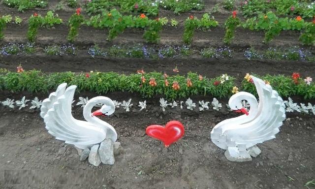 Поделки из пенопласта своими руками для сада и огорода