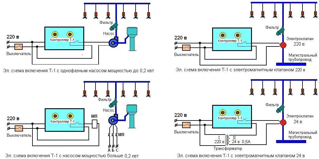 Схема автоматического полива своими руками 236