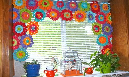 шторы из подручных материалов своими руками фото