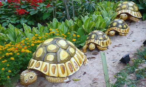 Best-garden-ornaments-statues1-500x300 Как сделать черепаху из бумаги? В помощь шаблон и фото-инструктаж
